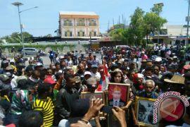 Sebanyak 800 personel amankan unjuk rasa eks milisi Timor-timur