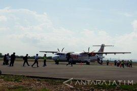 Jumlah Penumpang Pesawat Sumenep-Surabaya Turun