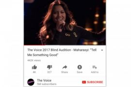 Penyanyi Indonesia lolos di The Voice Amerika