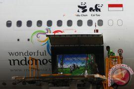 Menteri LHK sambut panda Cai Tao-Hu Chun