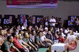 Panglima TNI dan Presiden Jokowi nonton bareng Penumpasan Pengkhianatan G-30S/PKI