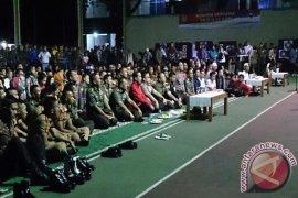 Presiden Dan Panglima Serius  Saksikan Film G30S/PKI