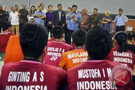 Wapres tinjau persiapan pelatnas bulutangkis Asian Games