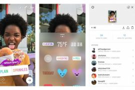 Instagram Stories tersambung ke Facebook Stories