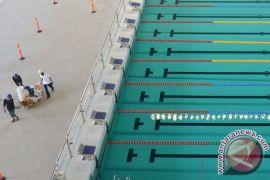 Kolam renang aquatic Bekasi siap digunakan kembali