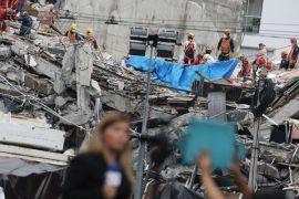 Gempa bermagnitudo 6,3 mengguncang  Meksiko