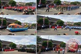 Kasdam Pimpin Upacara HUT TNI di Ambon