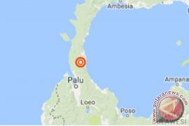 Kota Palu diguncang gempa 5,1 SR
