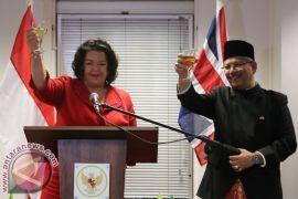 Resepsi diplomatik HUT RI dan TNI di London