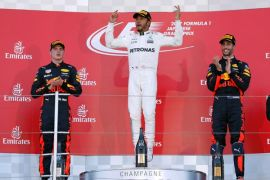Hamilton tercepat pada latihan terakhir musim ini