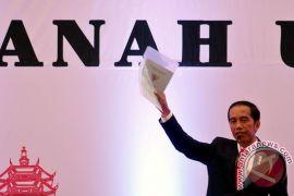 "Presiden Jokowi: \""Saya sudah jadi keluarga besar Sumut\"""