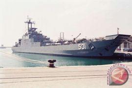 KRI Teluk Gilimanuk bersandar di pelabuhan Pontianak