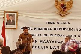 Wapres Jusuf Kalla temui warga Indonesia di Belgia