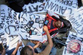 Jurnalis jadi sasaran amuk saat meliput pertandingan sepak bola