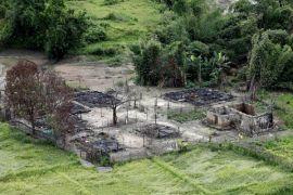 Gerilyawan Rohingya sergap kendaraan militer Myanmar, lima terluka