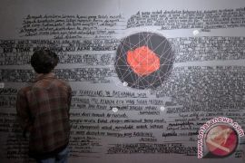 Hari ini, pameran Jakarta Biennale masih berlansung