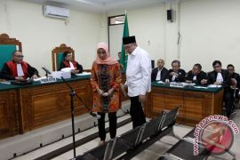 KPK eksekusi Ridwan dan istri ke Lapas Bengkulu
