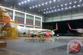 Begini kondisi tempat perawatan pesawat milik Lion Air di Batam