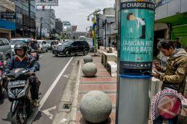 Pergantian tahun, malam tanpa kendaraan bermotor di Bandung