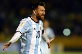 Palestina desak Messi agar tidak terlibat laga persahabatan di Yerusalem