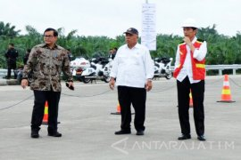 Percepatan Pembebasan Lahan Tol di Sumut Didorong Jokowi (Video)