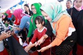 Peringatan Hari Cuci Tangan Pakai Sabun Sedunia Di Lampung