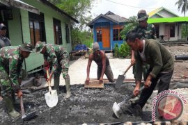 Pemkab Tanah Bumbu Gandeng TNI Bangun Desa