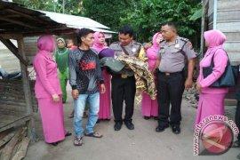 Bhabinkamtibmas Doakan Filda Nasution Lekas Sembuh