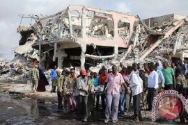14 orang tewas dalam ledakan di luar hotel Somalia