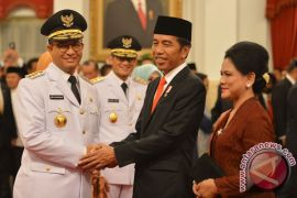 Anies-Sandi ungkap obrolan mereka dengan Jokowi