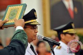 Djarot Hidayat tidak hadir pada pelantikan Anies-Sandi