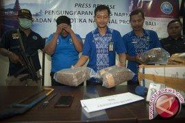 BNNP Bali Menangkap Kurir Ganja Jaringan Medan