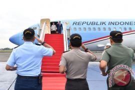 Presiden kunjungan ke tiga lokasi dalam sehari