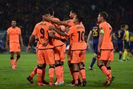 Hasil pertandingan Grup E sampai H Liga Champions