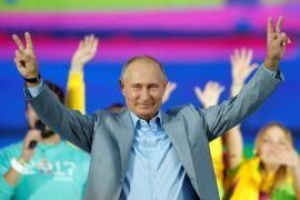 Putin isyaratkan keinginannya untuk maju pada pemilu 2018