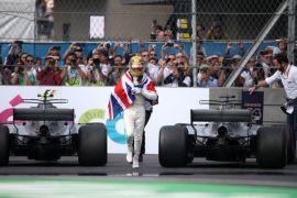 Hamilton pastikan raih gelar juara dunia keempat