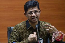 Tiga tersangka suap DPRD Lampung Tengah ditetapkan