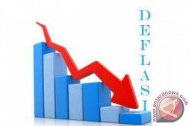 BPS :  Tual deflasi sebesar 1,55 persen