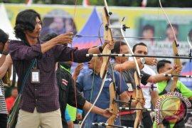 Eksibisi Wartawan Kejurnas Panahan