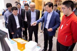 Bos Microsoft sambangi kantor pusat Xiaomi di Beijing