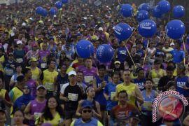 Sandiaga sebut penyelenggaraan Jakarta Marathon 2017 terburuk