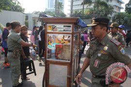 Retribusi denda PKL Jakarta Pusat capai Rp8,3 juta