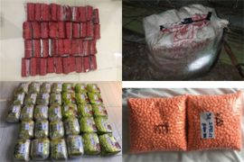 Polsekta Banjarmasin tengah sita tiga paket sabu-sabu