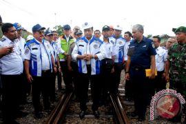 Pembangunan jalur ganda KA Sukabumi Rp1,1 triliun