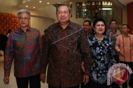 SBY Hadiri Akad Nikah Putri Presiden Jokowi