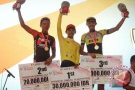 Jamal Hibatullah pebalap sepeda terbaik TdCC