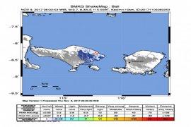 Gempa Bumi Guncang Lampung dan Bali