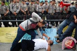 Oknum Polisi Pengeroyok Wartawan Diperiksa Propam Mimika