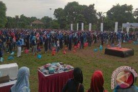 Senam Massal Hari Kesehatan Nasional Kota Bogor (Video)