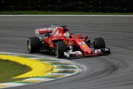 Vettel menangi Grand Prix Formula 1 Brasil